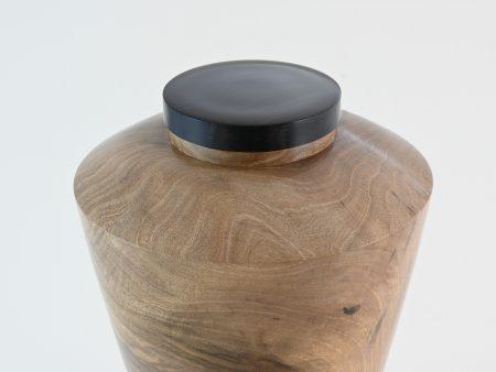 "Urn ""figured Walnut"""